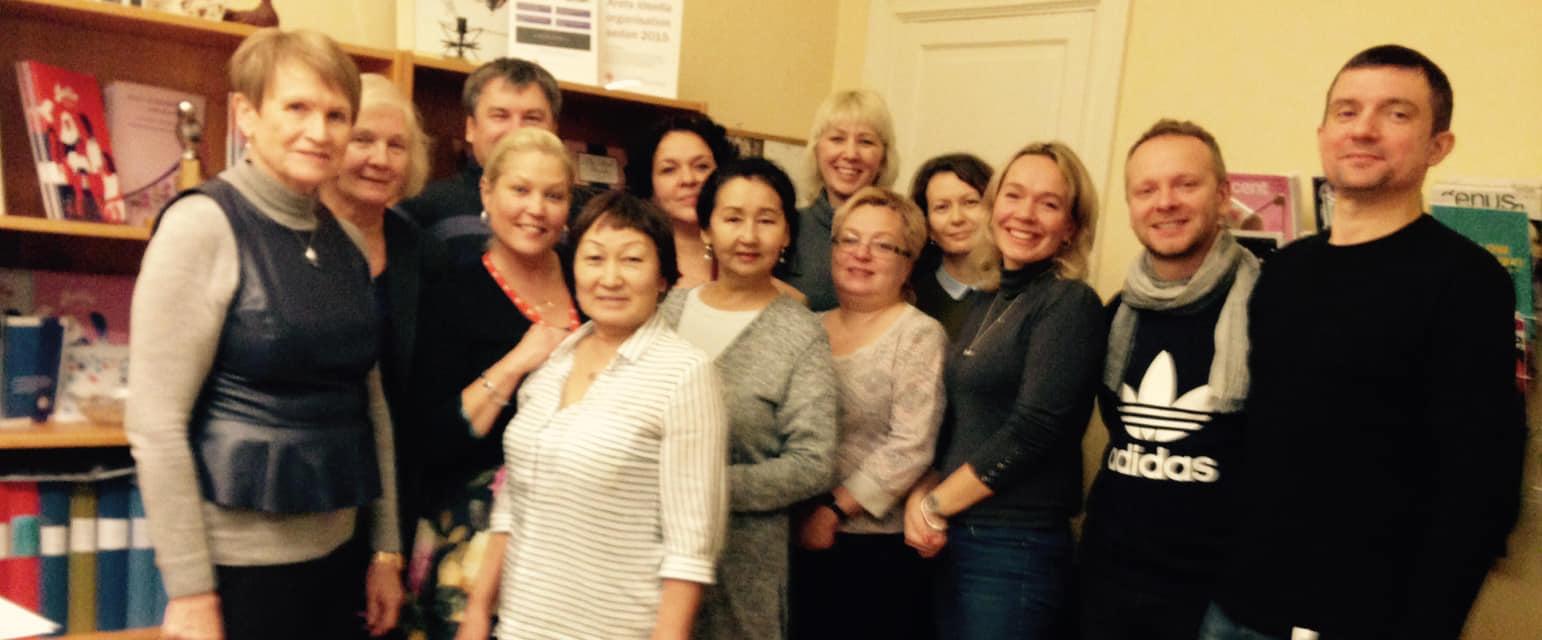 grupp studiebesök fr Ryssland 6 dec 2018